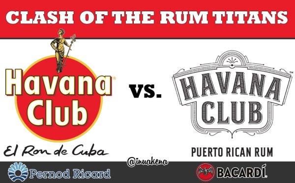 Pernod Ricard Havana Club versus Bacardi Havana Club
