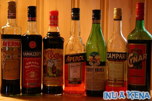 Seven Italian Amari
