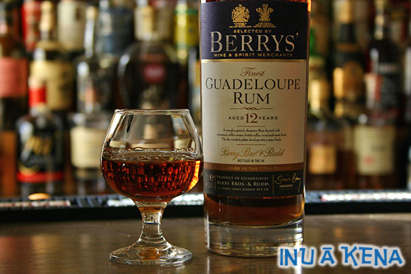 Berrys' Guadeloupe 12-Year Rum