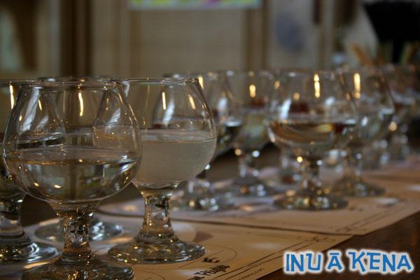 Coconut Rum Tasting Glasses