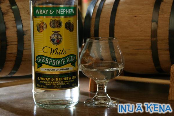J Wray & Nephew White Overproof Rum
