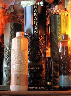 Vintage Okolehao Bottles