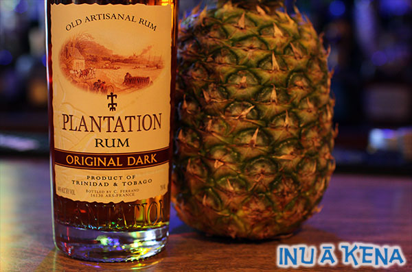 Homemade pineapple rum
