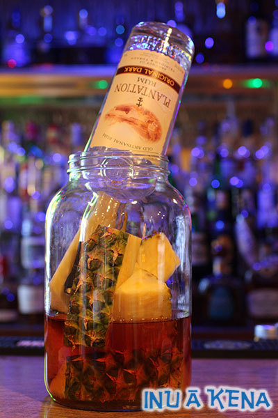 Pineapple rum infusion