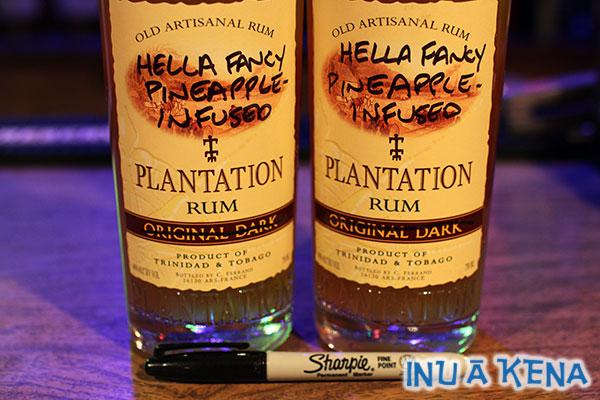 Hella Fancy Pineapple Rum