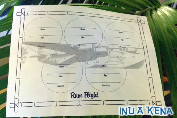 Rum Flight Mat