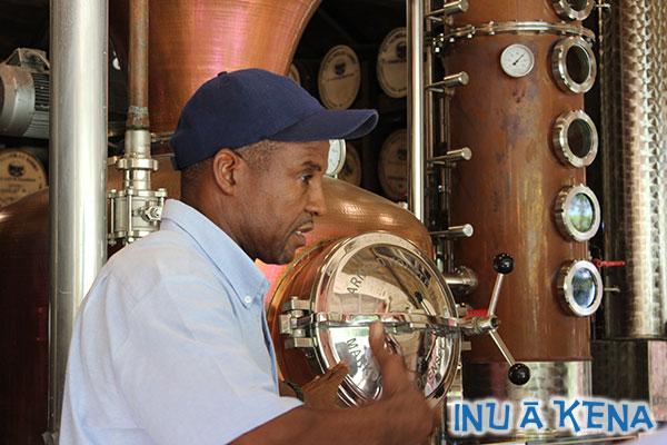 Saint Nicholas Abbey Distiller Edwin Griffith