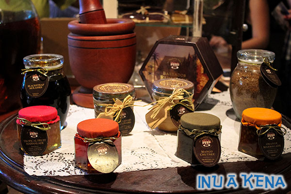 Culinary products for sale at Saint Nicholas Abbey