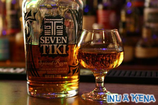 Seven Tiki Spiced Rum