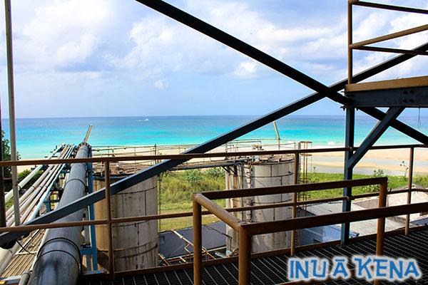 West Indies Rum Distillery molasses tanks