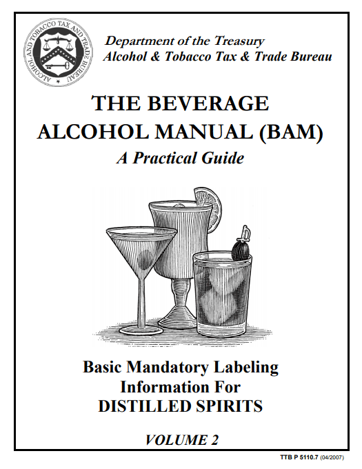 TTB Beverage Alcohol Manual